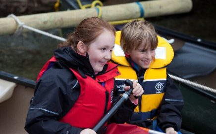 Image shows children with MACS conditions enjoying an activity break