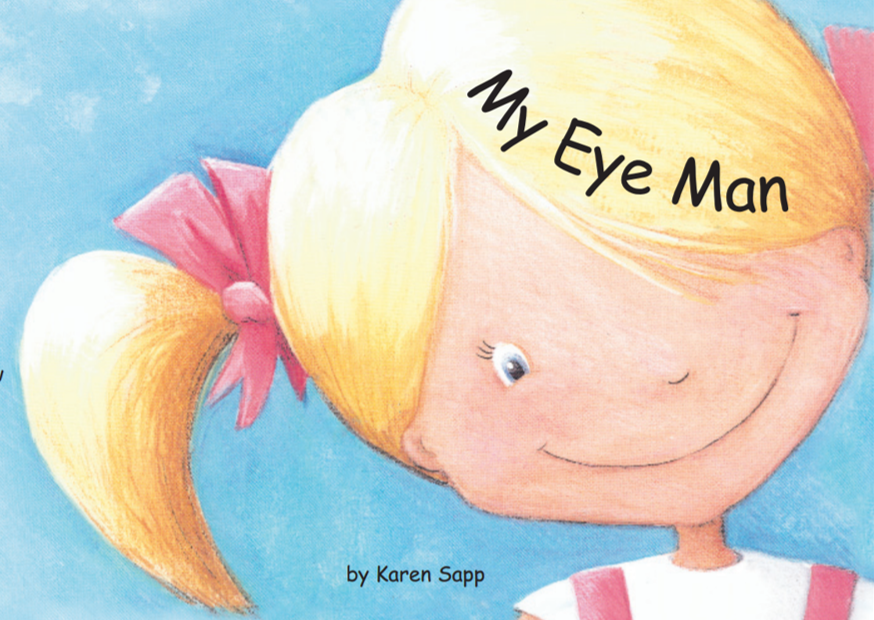 Image shows My Eye Man book