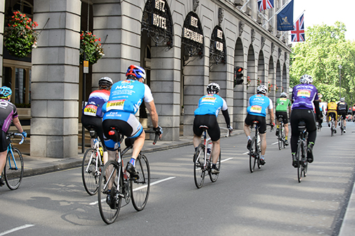 Image of MACS cyclists